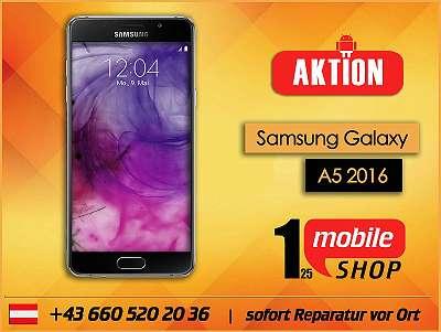 Samsung Galaxy A5 2016 - NEUWERTIG - mit Garantie - Werksoffen -#Schwarz