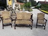 Sitzgruppe, Stoff, Bank, Stühle, Sessel, Wohnzimmer, Sitzgruppe, ahrer weyer