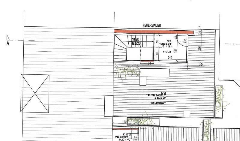 Terrasse ; Büro oder Bibliothek......