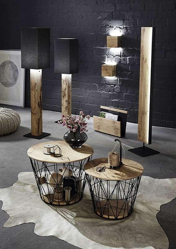 Naturstücke, Echtholz, Massivholz, Spiegel, Leuchten, Beistelltisch, Couchtisch,