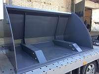 HOCHKIPPSCHAUFEL - LADERSCHAUFEL XXL 2,60m / Hoch 1300 mm und Tief 1400 mm - geeignet fyr alle Aufnahmen! Versand GRATIS!