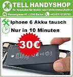 Apple iphone 6 Akku 30?, Inkl. Umbau in 10 min. Qualität Akku