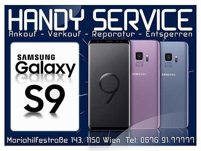 Samsung Galaxy S9 64GB, in Black Midnight