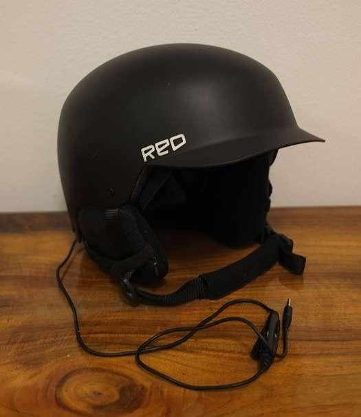 Burton/ Anon Mutiny II Helm in XL mit eingebauten Kopfhörern