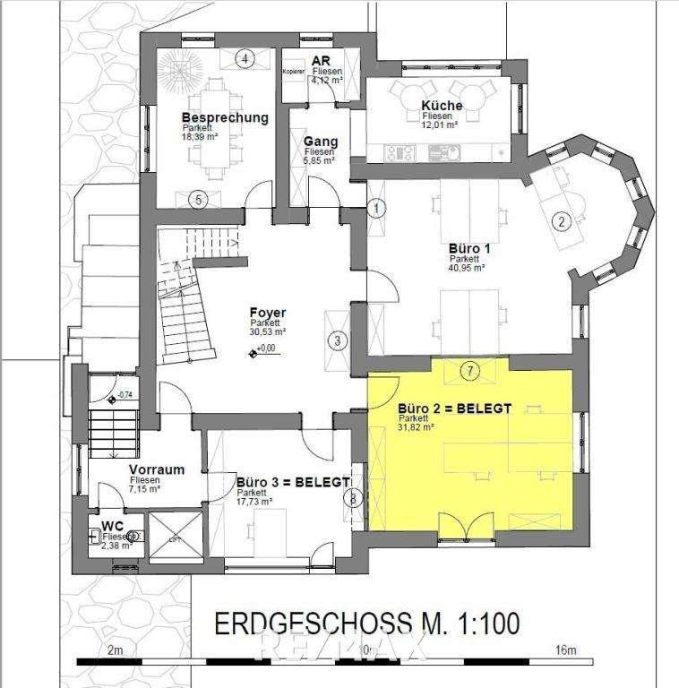 Plan_EG_Büro 2 - Belegt