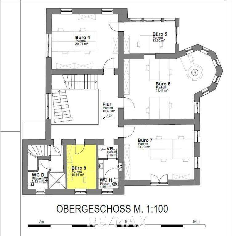 Plan_OG_Büro 8 - Belegt