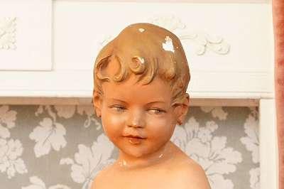 ART DÉCO – originale Schaufensterpuppe wohl um 1930 Mannequin Bub Bursch Junge Auslage Puppe Deko Jugendstil Figur