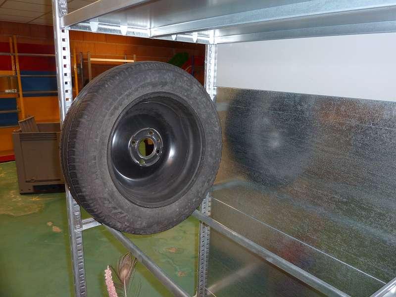 MR3 Regal verzinkt NEU, Höhe 220cm x Tiefe 80cm x Länge 10m