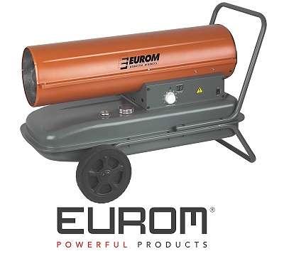 Heizkanone Eurom 37KW Dieselheizung Hallenheizung Ölheizgerät Heizöl Fireball37t