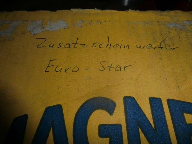 Zusatzscheinwerfer Iveco Eurostar