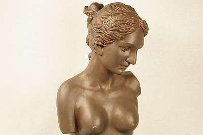Nackte Frauenbüste nach Vorbild aus der Antike Dame Figur Femme Renaissance Antike Griechen Römer Göttin Nude