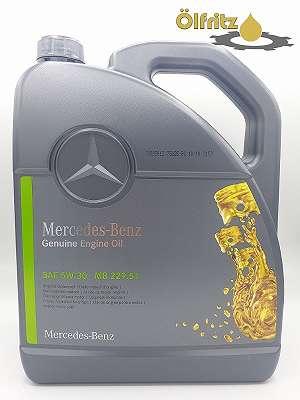 Original Mercedes Benz MB 229.51 5W-30 Motoröl 5l Kanne