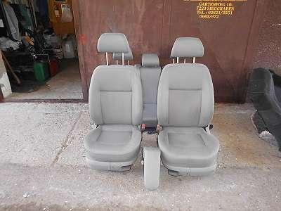 Sitze Sitzgarnitur vorne hinten VW Bora 1J Velours grau Mittelarmlehne Seitenairbag Sitzbank Golf 4 IV Innenausstattung