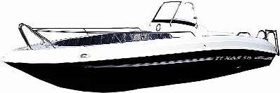 SONDERANGEBOT - Motorboot Texas 545 Openboot Sonnendeck Urlaubsboot Freizeitboot