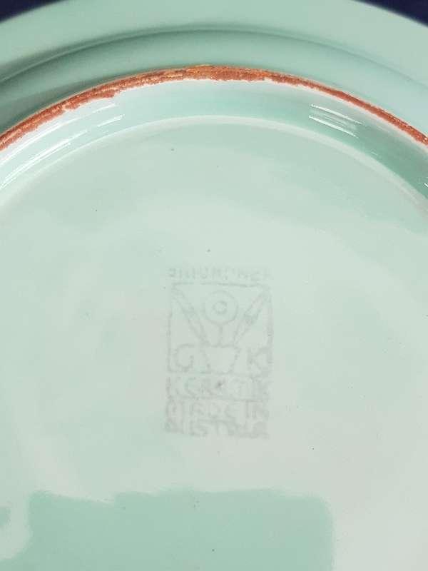 F. M. Tarbuk&Co Aschenbecher Gmundner Keramik