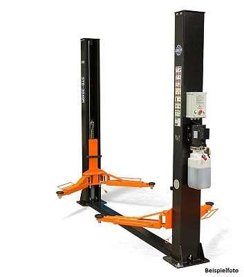 2 Säulen Hebebühne mit manueller Sicherheits-Entriegelung Tragkraft 4000kg Profi-Line Zweisäulenhebebühne * AKTION * Finanzierung möglich *