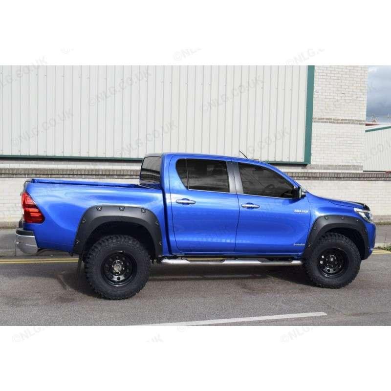 Kotflügelverbreiterung Radabdeckung Toyota Hi-Lux HiLUX Revo 2015- Doppelkabine