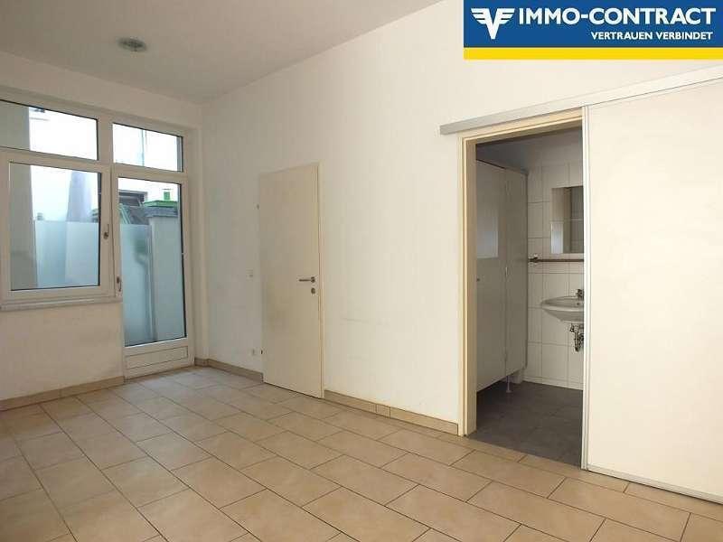 Zugang zu Toiletten und Abstellraum