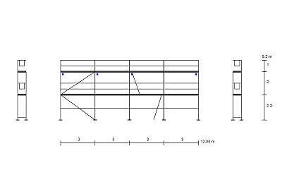 Kompatibiles Fassadengerüst Typ Plettac 78 qm mit Zulassung Typ Plettac Gerüst Stahlrahmen Baugerüst NEU