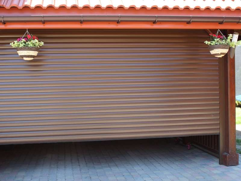 Tor Rolltor Rolltore Werkstattrolltor, 2500mm x 2500mm, Rolltore + motor & 2 Handsender