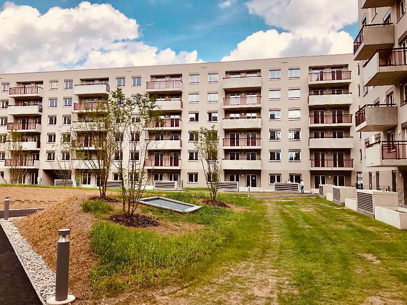 Genossenschaftsmietwohnungen 2-Zimmer, ca. 68 m² - Erstbezug-provisionsfrei