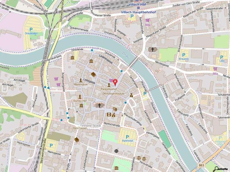 Bild 1 von 2 - Ortsplan