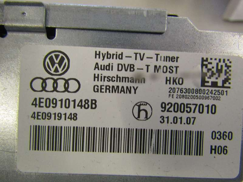 Steuergerät Audi A6 2009 4E0910148B