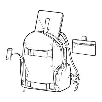 Burton Emphasis Rucksack für Kinder *NEU*