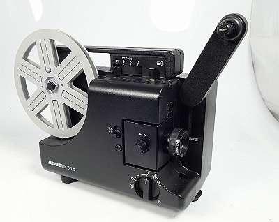 REVUE LUX 30 b NORMAL 8 UND SUPER 8 FILMPROJEKTOR EUMIG - NEUER RIEMEN - NEUE LAMPE