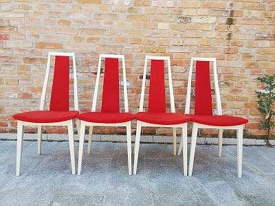 4 Design Stühle
