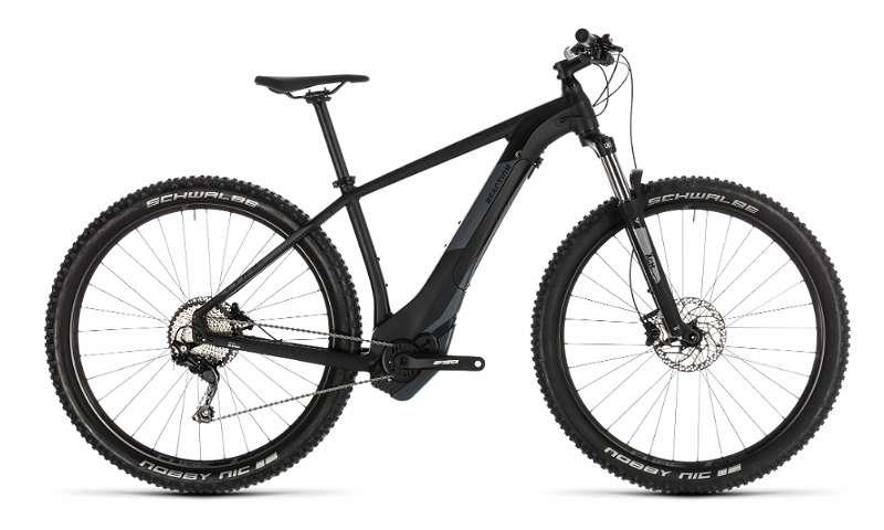 E-Bike Cube REACTION HYBRID EXC 500 BLACK?N GREY 27,5 Zoll Räder 16 Zoll Rahmen Bosch Performance CX # Neu ! Vorsteuerabzug für betrieblich genutzte E-Bikes.