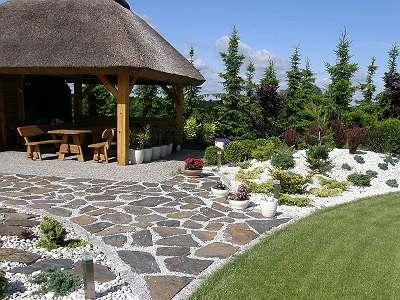 AKTION ! Polygonalplatten / Gartensteine / Gartenplatten aus SCHIEFER - frostbeständig - Naturstein