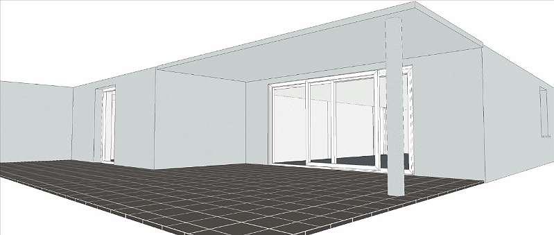 Grundriss 3D Terrasse