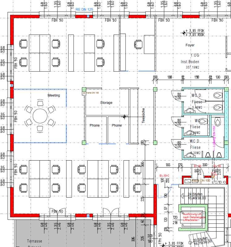 Büros ab 20 m²; Business Center, Ordination und Gewerbeflächen; Neubau mit Lift; Erstbezug