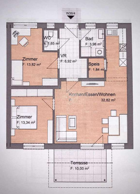 + PROVISIONSFREI+ 3 Zimmer Neubauwohnung mit grossem Balkon in Hartberg!