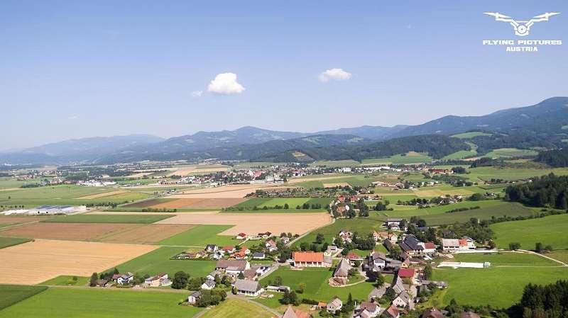 Aussicht Richtung Weißkirchen
