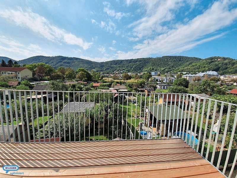 Vinzenzgasse Balkon Ausblick