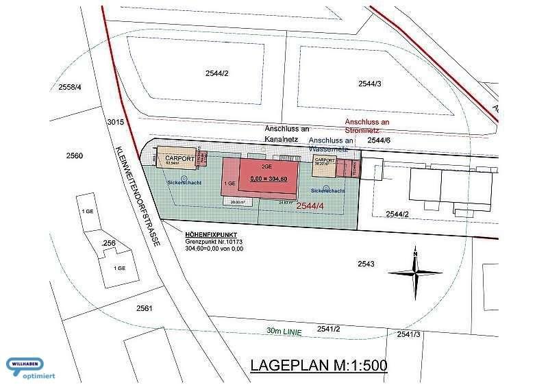 WOW! Penthousewohnung mit Südwestausrichtung, 8 Min. zum SCS | 115 m² Wfl. | 58 m² Dachterrasse