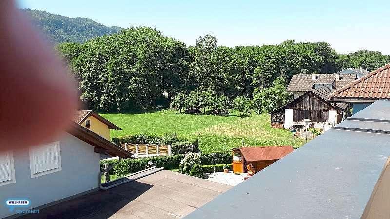 Blick von der Dachterrasse nach Südwest