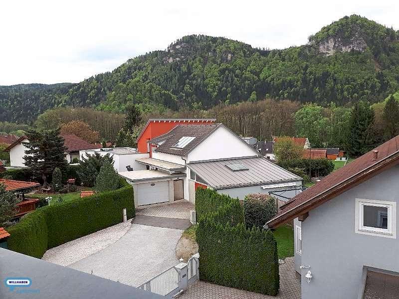 Blick von der Dachterrasse nach Südost