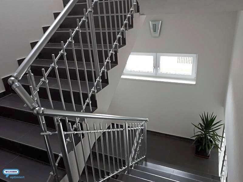 Modernes Stiegenhaus