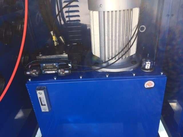 Hydraulikschlauch Presse NEU, HSP 503 Inklusive 10 Set Pressbacken