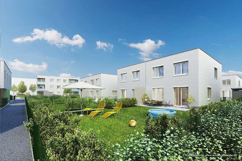 Gefördertes 4-Zimmer-Doppelhaus 106 m²