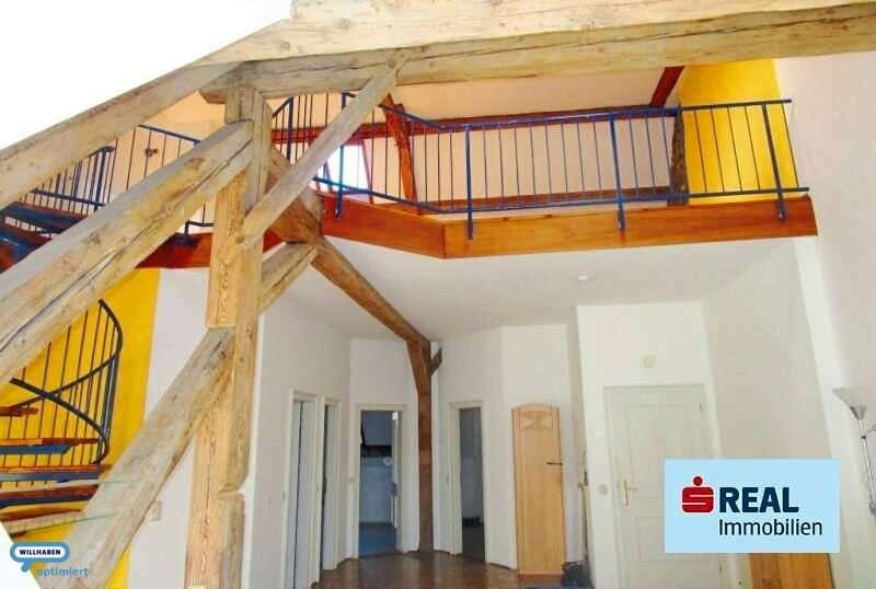Bild 1 von 6 - Aufgang zum oberen Bereich
