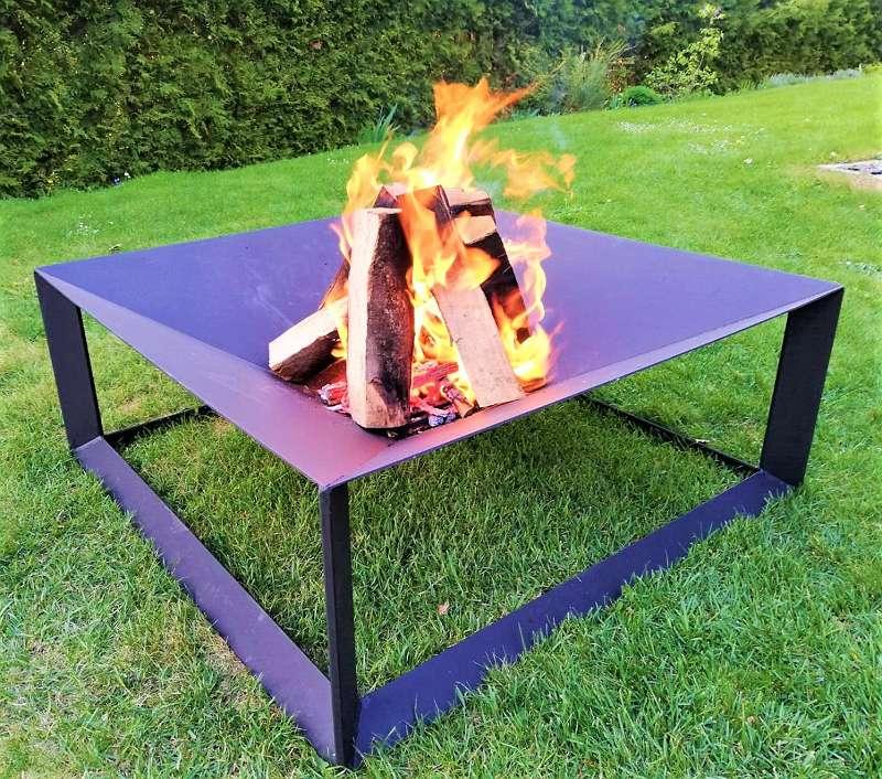 Feuerschale, Feuerstelle, Lagerfeuer 75x75cm