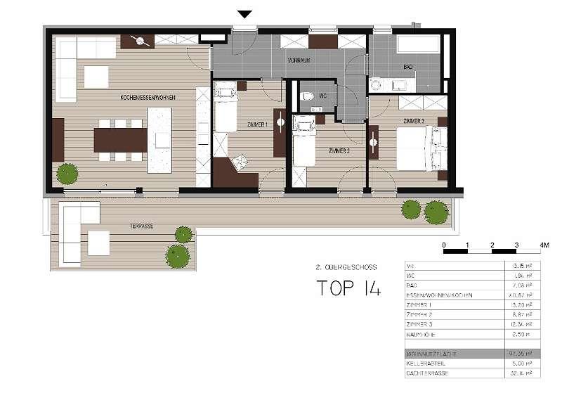 Komfortabel wohnen in der Bürgergasse - Penthouse-Wohnung mit Südausrichtung