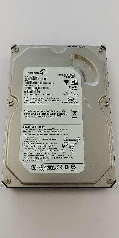 "Seagate Barracuda ST3160812AS 160GB 7200rpm 3,5"" HDD Festplatte + GARANTIE"