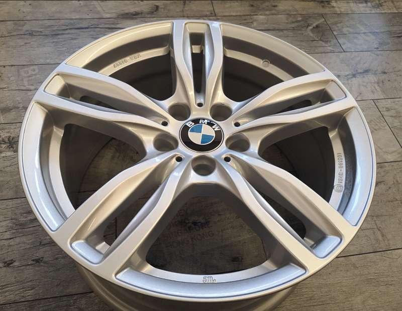 BMW 3er F3- 4er 18 Zoll Winterkompletträder Winterreifen gebraucht Alufelgen fabrikneu mit ECE Freigabe Radsatz inkl RDKS System