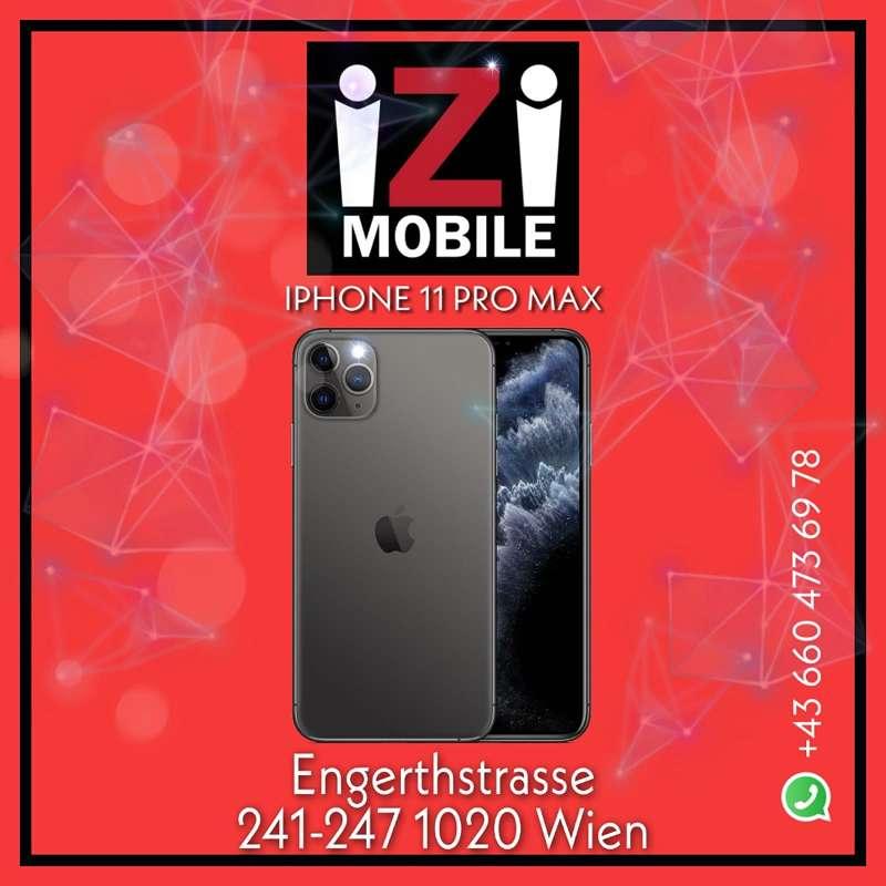 Apple iPhone 11 Pro Max 512GB, SPACE GREY/ Nagelneu, Org. Versiegelt/ Offen für alle Netze/ Mit OVP und 1 Jahr Herstellergarantie