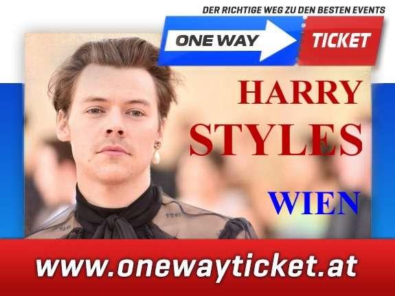 Harry Styles live in Wien Top Karten im Unterrang 30.05.2020 live in der Stadthalle Wien